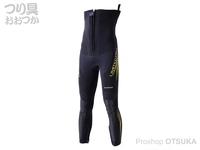 シマノ リミテッドプロ・ガードタイツ - FI-014U #TFイエロー LOサイズ