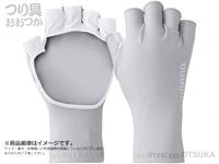 シマノ サンプロテクション グローブ - GL-048Q #クールグレー XLサイズ