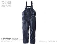 シマノ マリンライトサロペット - RA-03PU #ブラック サイズ M