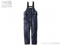 シマノ マリンライトサロペット - RA-03PU #ブラック サイズ 2XL