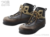 シマノ ゼフォー カットフェルトウェーディングシューズVU - FS-222R #グレー 26.0cm
