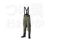 シマノ マックスデュラウェーダー(中丸ウエストハイ) - WA-052R #グレー サイズ  LL(26.5-27.0cm)