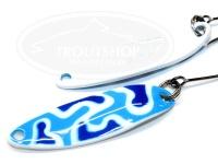 シマノ カーディフエリアスプーン - カーディフスプーン スリムスイマー2.5g #26T ブルーホワイトカモ 2.5g カモエディション