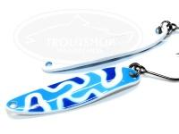 シマノ カーディフエリアスプーン - カーディフスプーン スリムスイマー3.5g #26T ブルーホワイトカモ 3.5g カモエディション
