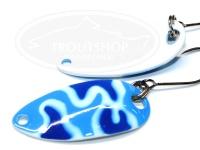 シマノ カーディフエリアスプーン -  ロールスイマー 2.5g #26T ブルーホワイトカモ 2.5g カモエディション