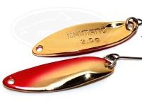 シマノ カーディフエリアスプーン - カーディフスプーン スリムスイマー2.5g #71T レッドゴールド 2.5g プレミアムメッキ