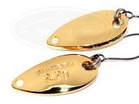 シマノ カーディフエリアスプーン -  ロールスイマー 2.2g #74T フルゴールド 2.2g プレミアムメッキ