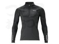 シマノ リミテッドプロ エキスパートインナーシャツ - IN-081S #ブラック サイズM