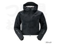 シマノ DSショートレイン - RA-02SS #ブラック Lサイズ