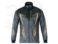 シマノ リミテッドプロ フルジップシャツ(長袖) - SH-011S #ブラック サイズL