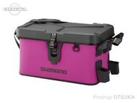 シマノ ロッドレスト ボートバッグ(ハードタイプ) - BK-007R #ピンク 27L