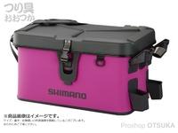 シマノ ロッドレスト ボートバッグ(ハードタイプ) - BK-007R #ピンク 32L ハードタイプ