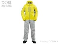 シマノ SS・3Dマリンコールドウェザースーツ - RB-033R #イエロー L