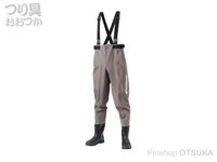 シマノ ハイパーウェーダー - FF-051T #スモークグレー LL 26.5~27.0cm