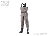 シマノ ハイパーウェーダー - FF-052T #スモークグレー LL 26.5~27.0cm