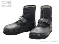 シマノ 3Dカットピンフェルトタビ(中割) - FT-037T #ブラック 3Lサイズ