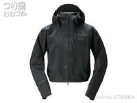 シマノ DSショートレイン - RA-02ST #ブラック 2XL