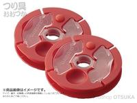 シマノ 鮎・回転仕掛巻R 替えスプール(2ヶ入) - CS-311L #ピンク 替えスプール 8回転1m