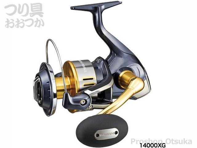 シマノ 15ツインパワーSW 14000XG ギア6.2:1自重650g 糸巻量PE6-300 8-200