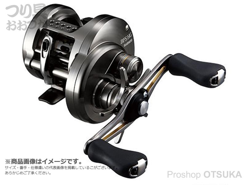シマノ カルカッタ コンクエスト BFS HG レフト ギア比6.8 自重200g ドラグ4kg