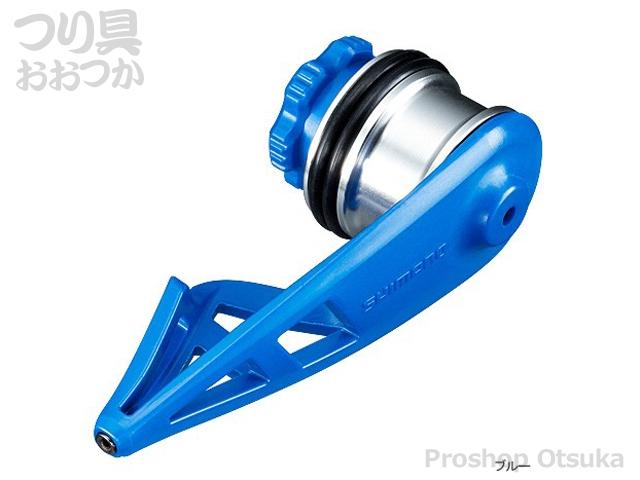シマノ ボビンワインダーライトタイプ TH-201M ノット製作補助器具 ブルー
