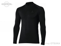 おたふく手袋 ボディタフネス - BTパワーストレッチサーモデオ ハイネックシャツ #ブラック L