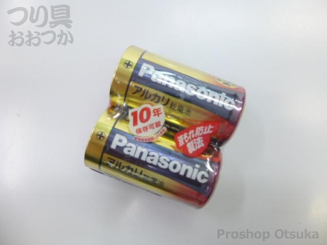 ナショナル アルカリ乾電池 単2形 単2形