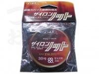 YGK よつあみ ザイロンノット - 5m巻 ブラック 30号