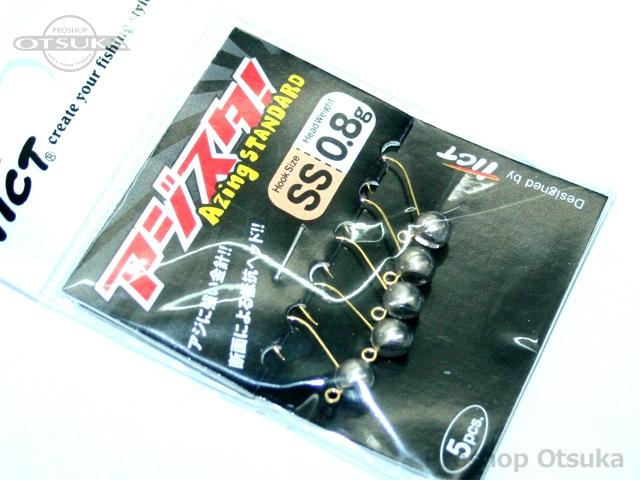 ティクト アジスタ アジスタ 0.8g フックサイズ#SS 金針