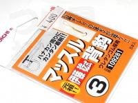 カツイチ マッスル背鈎 - - 金 3号