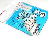 カツイチ ゴム背鈎専用 - 小袋 - 3号