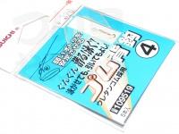 カツイチ ゴム背鈎専用 - 小袋 - 4号