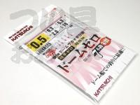 カツイチ ドームゼロ -  7本鈎 朱留  ハリ:0.5号