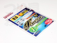 カツイチ フィネスワカサギ - FN-4 - 0.5号 枝0.15号 幹0.2号