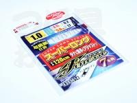 カツイチ スーパーロングフィネスセブン - LFN-7 - 1.0号 枝0.15号 幹0.2号