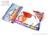カツイチ スライド式五目テンヤ - OS-2 #エビオレ 10号 38g