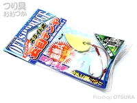 カツイチ スライド式五目テンヤ - OS-2 #グロー 10号 38g