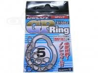 デコイ(カツイチ) GPリング -   サイズ #5 破断強度500lb