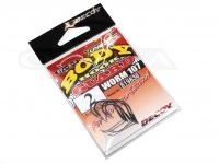 デコイ ワームフック - ワーム 107 ボディーガード - サイズ#2 極細ワイヤーガード