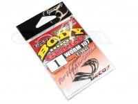 デコイ ワームフック - ワーム 107 ボディーガード - サイズ#1 極細ワイヤーガード