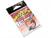 デコイ ワームフック - ワーム 107 ボディーガード - サイズ#1/0 極細ワイヤーガード