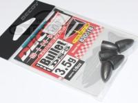 デコイ デコイシンカー - DS-5 バレット #ガンメタ 3.5g 1/8oz