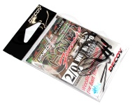 デコイ ワームフック - カバーフィネスHD ワーム220 #NSブラック サイズ#2/0