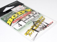 デコイ ワームフック - ワーム 108 ボディーガードHD - サイズ#4