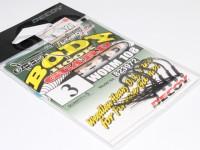 デコイ ワームフック - ワーム 108 ボディーガードHD - サイズ#3