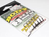 デコイ ワームフック - ワーム 108 ボディーガードHD - サイズ#2
