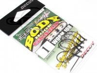 デコイ ワームフック - ワーム 108 ボディーガードHD - サイズ#1
