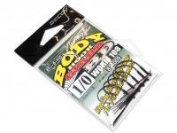 デコイ ワームフック - ワーム 108 ボディーガードHD - サイズ#1/0