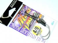 デコイ(カツイチ) アシストフック - DJ-78 ミドルパイク シルバー サイズ #4/0