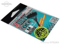 デコイ シンカーストッパー - L-12 マルチシンカーロック #ブラック #M